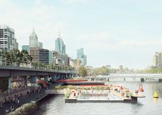 Yarra pool project in Melbourne harbour by Studio Octopi