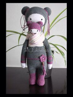 ❤️Lalylala Bina bear, NOTE: I finally found a Geisha doll to follow❤️