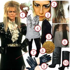 Jareth from Labyrinth · DIY The Look · Cut Out + Keep Craft Blog