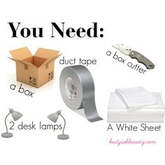 DIY Photography Light Box by budziakbeauty