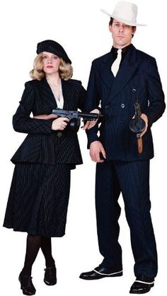 couples halloween costumes | Couples Halloween Costumes: Historical Gangsters | Web Surfing the ...