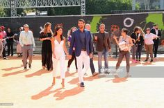 Model-Miss California USA 2010 Nicole Johnson (center L) and honoree Michael Phelps (center R) attend Nickelodeon Kids' Choice Sports Awards 2017 at Pauley Pavilion on July 13, 2017 in Los Angeles, California.