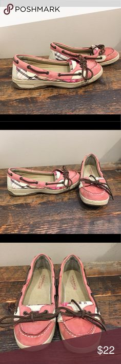 Sperry Angelfish sz 5 Great condition, super cute shoes for spring! Girls size 5.  Please check out my closet for more awesome kids shoes 👟 Sperry Shoes