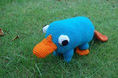 FREE Crochet Pattern: Plushie Pet Platypus PDF instant download
