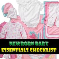 The arrival of a new baby is considered as a very important event and therefore it requires careful preparation. The work begins by selecting an obstetrician, Baby Checklist Newborn, New Baby Checklist, Newborn Baby Care, Baby Needs List, Newborn Needs, Happy Pregnancy, Future Mom, New Baby Products, Nursery