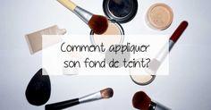 Comment appliquer votre fond de teint comme une pro #fonddeteint #makeup #makeuptips #maquillage
