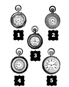 2 Vintage Steampunk Timepiece Clocks Pocketwatches Temporary Tattoo, various sizes available You Choose by TabooTattoo on Etsy https://www.etsy.com/listing/243707863/2-vintage-steampunk-timepiece-clocks