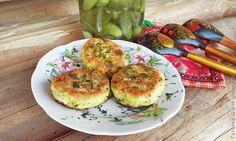 Несладкие сырники с зеленью / Рецепты с фото