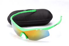 Discount Oakley M Frame Sunglass Green Frame Yellow Lens For Sale