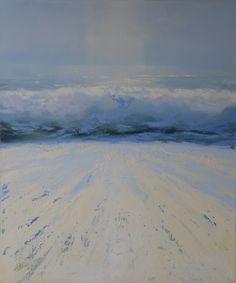Waves wash and die ashore - Bert Oosthout Portfolio