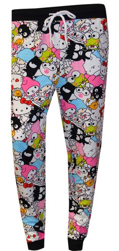 Hello Kitty And Friends French Terry Jogger Lounge Pants Lounge Pants, Lounge Wear, Best Pajamas, Style Lounge, Fashion Joggers, French Terry, Hello Kitty, Girl Fashion, Cute Outfits