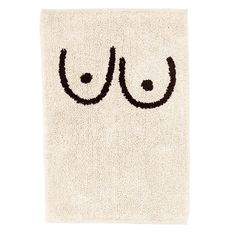"1. Cold Picnic ""Boob Bathmat,"" $60"