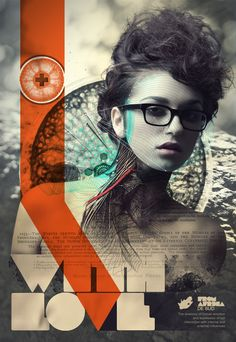 With Love by Aldo Pulella, via Behance