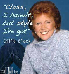 Cilla Black Quote - RIP