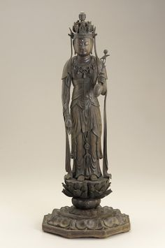 Kannon late 12th century Heian period Wood H: 58.8 cm Japan