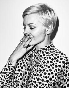 Modèle coupe courte femme hiver 2105 - Les plus belles coupes courtes de Pinterest - Elle