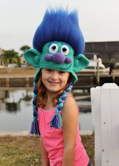 Get your hair in the air with this amazing Happy Branch Crochet Hat Pattern inspired by the Dreamworks movie Trolls! This Branch Trolls crochet hat is made with soft, durable acrylic yarn and features a 3-D amigurumi-style design that looks stunning from every angle. Your loved one (or you!) will adore this one-of-a-kind Trolls Movie crochet hat. Many hours were spent perfecting and photographing this pattern to make it as comprehensive and concise as possible. The result is a professional…