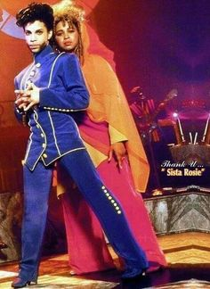 Prince with Rosie Gaines