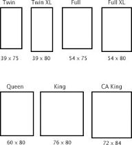 queen size bed dimensions - Google Search