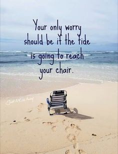 From days at the beach to nights under the stars, summer is the best time of year! Here are some cute and funny summer quotes to hold us over until summer. Playa Beach, Ocean Beach, Beach Bum, Sunny Beach, Good Quotes, Beach Quotes And Sayings Inspiration, Quotes Quotes, Don't Worry Quotes, Beachy Quotes
