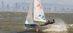 Team #Aus11 in action! #WillRyan #MatBelcher #470OlympicSailing