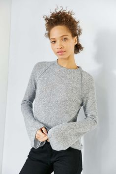 BDG Ashley Bell Sleeve Sweater