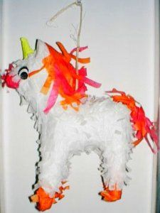 "Polly Wanna Pinata Unicorn by Polly Wanna. $6.31. Approx. 7"" X 3"" x 8.5"" high. For Medium Birds, Large Birds, Extra Large Birds Your fun-loving bird will say, ""Muchas Gracias!"" when you treat them to a Polly Wanna Pinata! These ingenious bird toys are fun-filled mini-pinatas sure to bring a fiesta to any bird cage! Full of delicious fruit and nut treats, your bird will have a blast picking apart the all-natural, non-toxic, colorful piata, satisfying their natural ne..."