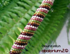Pattern bijoux: Spirale Gourd Stitch