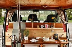 Gallery of beautiful photographs of all the campervans you can find in the Quirky Campers family. Get inspiration for your next adventure.