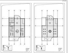Stüdyo I Saat Mağazası Autocad Çizimleri- Tavan Planları