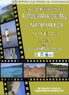 CURSO INICIACIÓN FOTOGRAFÍA DIGITAL DE NATURALEZA