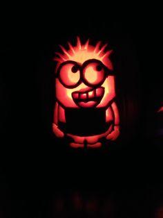 Minion - stencil from Zombie Pumpkins