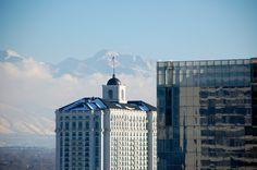 Grand America Hotel and Federal Courthouse in Salt Lake City, Utah