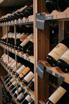 Bar à vin Paris : La cave