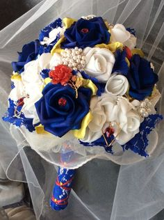 Beauty and The Beast Wedding Bouquet-Bridal by ModernWeddingTrends