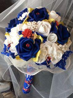 Beauty and The Beast Wedding Bouquet-Bridal by ModernWeddingTrends