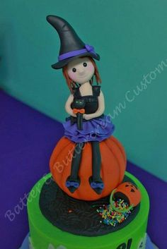 Little Witch - Cake by Pam Hembree