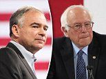 Some of Sen. Bernie Sanders' progressive supporters want to pull Sen. Tim Kaine from the vice presidential slot and insert someone to the left of him instead.