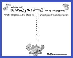 1000 ideas about scaredy squirrel on pinterest flat for Scaredy squirrel coloring pages