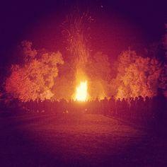 #spiritoffolk #ireland #festival #magic #fire Adventure Travel, Ireland, Fire, Magic, Celestial, Sunset, Instagram Posts, Outdoor, Sunsets