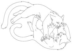 Warrior Cats Coloring Pages – 800×569 Coloring picture animal and ...