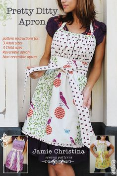 empire waist apron pattern