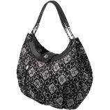There is a stylish Petunia Pickle Bottom Diaper Bag for every age and stage of modern motherhood. Comes in an array of styles and patterns. Found locally at Sweet Innocence. $100-$200. petunia.com/diaper-bags.