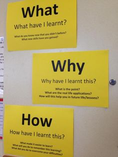 What? Why? How? in all we do... by @TWDLearning