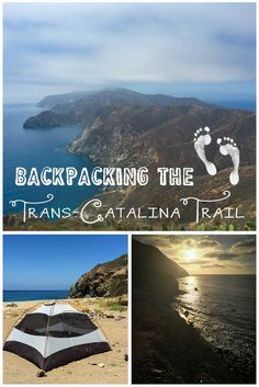 Trans-Catalina Trail Backpacking Guide If you are looking for a winter camping escape, Catalina Islands Trans-Catalina Trail is 40 miles Camping Places, Camping Spots, Places To Travel, Places To Go, Camping Ideas, Hiking Places, Hiking Spots, Camping Guide, Hiking Tips