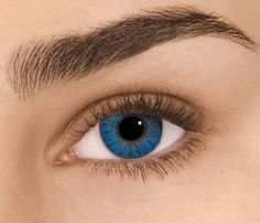 Bright blue colored contacts - perfect for hiding from the Law.  From silkfair.