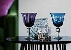 I'll drink to that #HelloDecember #holidayseason #glamorous #glassware by #PolsPotten #style #fashion #tabletop #decoration #cheers Shop our holiday glassware collection online http://www.internistore.com/accessories/tableware/potiria/?showall=on