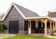 Garage Plans With Loft, Garage House Plans, Carport Garage, Garage Exterior, Backyard Pavilion, Backyard Sheds, Garage Design, Patio Design, Curb Appeal Porch