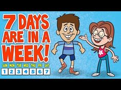 The 7 Days of the Week Song ♫ 7 Days of the Week Calendar Song ♫ Kids Songs by The Learning Station - Colorful Dreams Kindergarten Nursery Kindergarten Songs, Preschool Music, Preschool Learning, Fun Learning, Teaching, Kindergarten Readiness, Free Preschool, Calendar Songs, Calendar Time