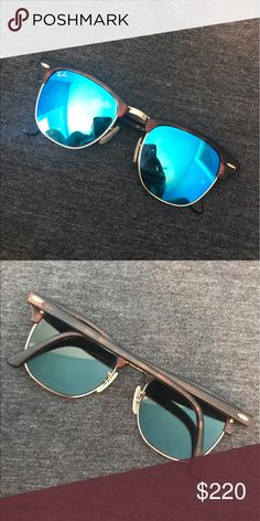 Ray bans Ray ban sunglasses with blue tint Ray-Ban Accessories Sunglasses